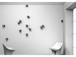 Orologi a muro per la cucina, il salotto e la stanza da letto #Home #clock #furniture