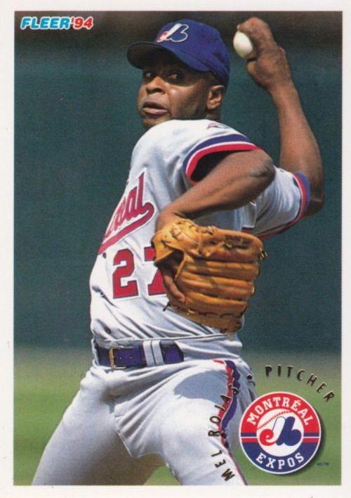 Random Baseball Card 4007 Mel Rojas Pitcher Montreal