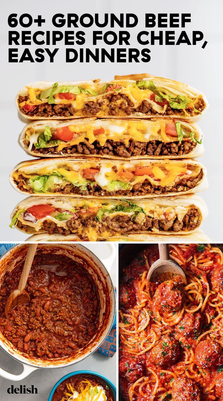These Budget Friendly Ground Beef Recipes Are Easy To Make And So Delicious Beef Recipes For
