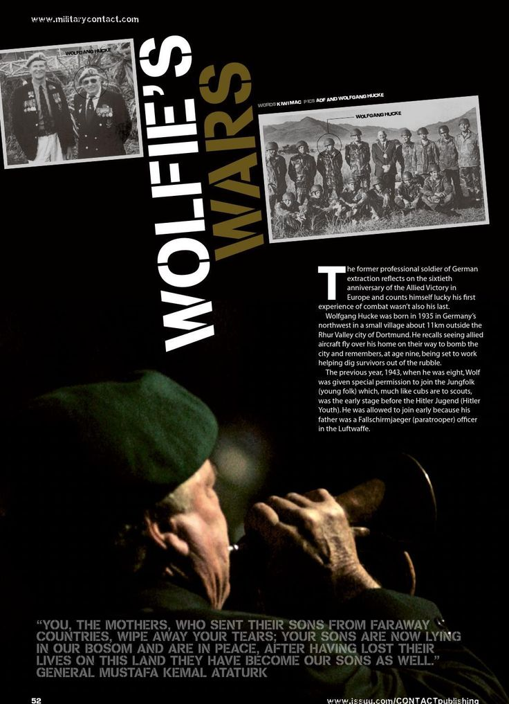 Reminiscing on seven different conflicts - but always on the losing side. Published in issue #6, June 2005