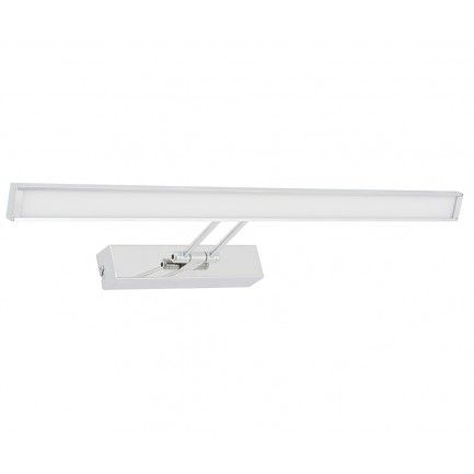 LEDLUX Gough 600mm Dimmable Adjustable LED Wall Bracket in Chrome OVER MIRROR CABINET