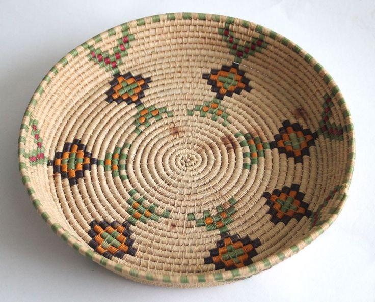 Wonderful work in this vintage Native American Indian basket