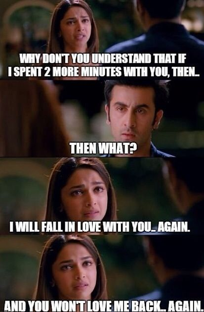 Yeh jawaani hai deewani-This scene was intense and the acting, no words.
