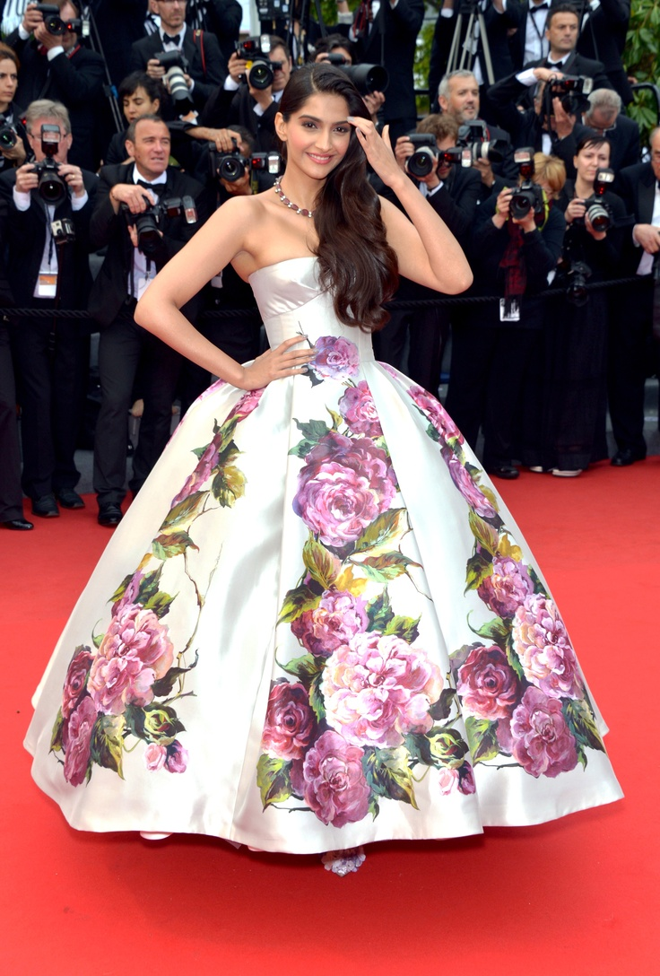 Sonam Kapoor. Electrolux at Cannes 2013