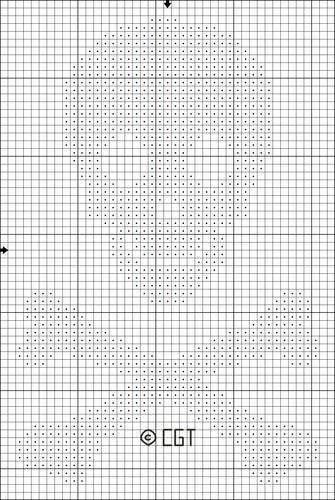 212 best A lot of Crochet Graphs \/ Intarsia images on Pinterest - cross stitch graph paper