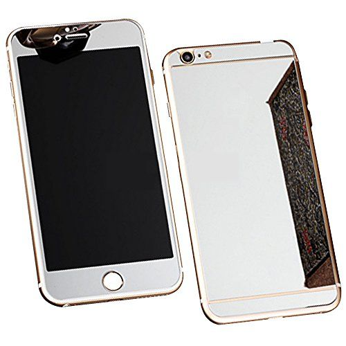 Avant et Arriere Protecteur d'écran en Verre Trempé Pour Apple iPhone 6 Plus / 6S Plus 5.5 Ecran - Yihya 9H Premium Miroir Effet Complet Tempered Glass Film Protection,Bords Arrondis - Argent(Silver) #Avant #Arriere #Protecteur #d'écran #Verre #Trempé #Pour #Apple #iPhone #Plus #Ecran #Yihya #Premium #Miroir #Effet #Complet #Tempered #Glass #Film #Protection,Bords #Arrondis #Argent(Silver)