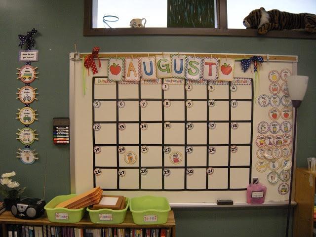 Classroom Calendar Ideas ~ Best ideas about classroom calendar on pinterest