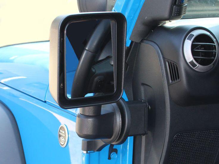Die-Tech Off-Road Mirror Brackets for 07-up Jeep® Wrangler JK