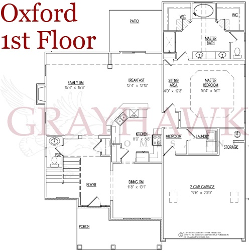 The oxford 1st floor plan learn more at www for Oxford floor plan