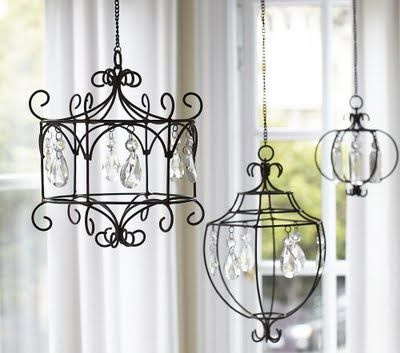 Pottery Barn-Inspired Chandelier from Bethy Belle Crafts | Positively Splendid {Crafts, Sewing, Recipes and Home Decor}