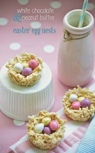 A fun and simple recipe to make with kids for Easter - only 3 ingredients! These really are delicious, my kids loved them!