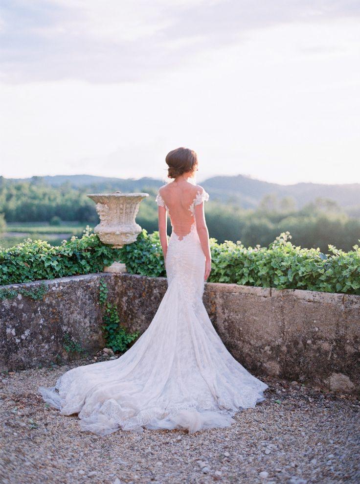 This Authentic Provence Wedding Inspiration From Le Secret D Audrey And La Fabrique A Reves Features Galia Lahav Dress