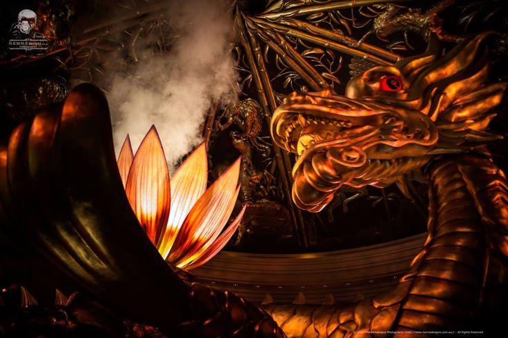 The Dragon in the Lobby of Wynn Casino Macau