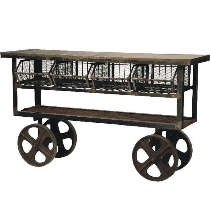 Industrial Kitchen Cart: 17 Best Images About Rolling Work Tables On Pinterest
