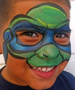 teenage mutant ninja turtle face paint | Ninja turtle face ...