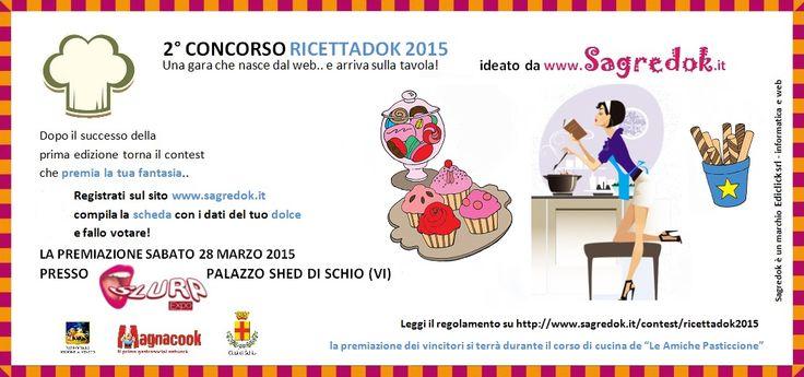 Ricettok 2015, la seconda edizione del contest di #ricette, quest'anno dedicato ai dolci.