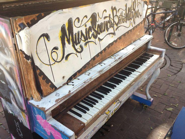 Stephen Avenue Street Piano