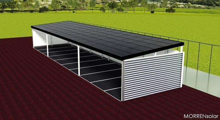 afdak solar zonnepanelen