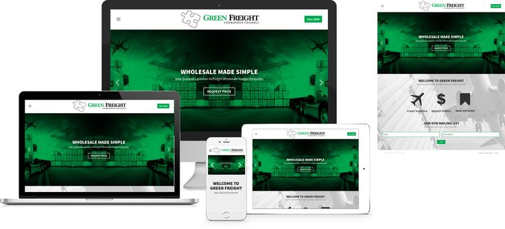 Forge Online creates yet another stunning example of contemporary and functionally powerful Open Source website design for Green Freight Limited.