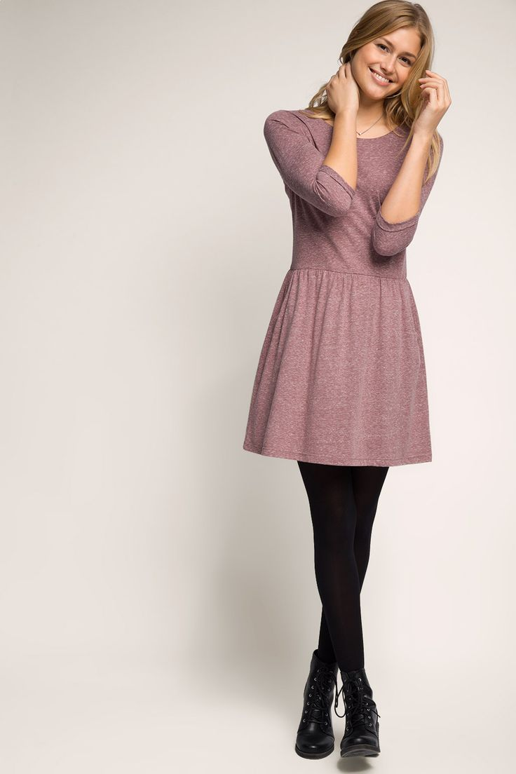 edc - Jersey-Kleid mit Einschubtaschen im Online Shop kaufen