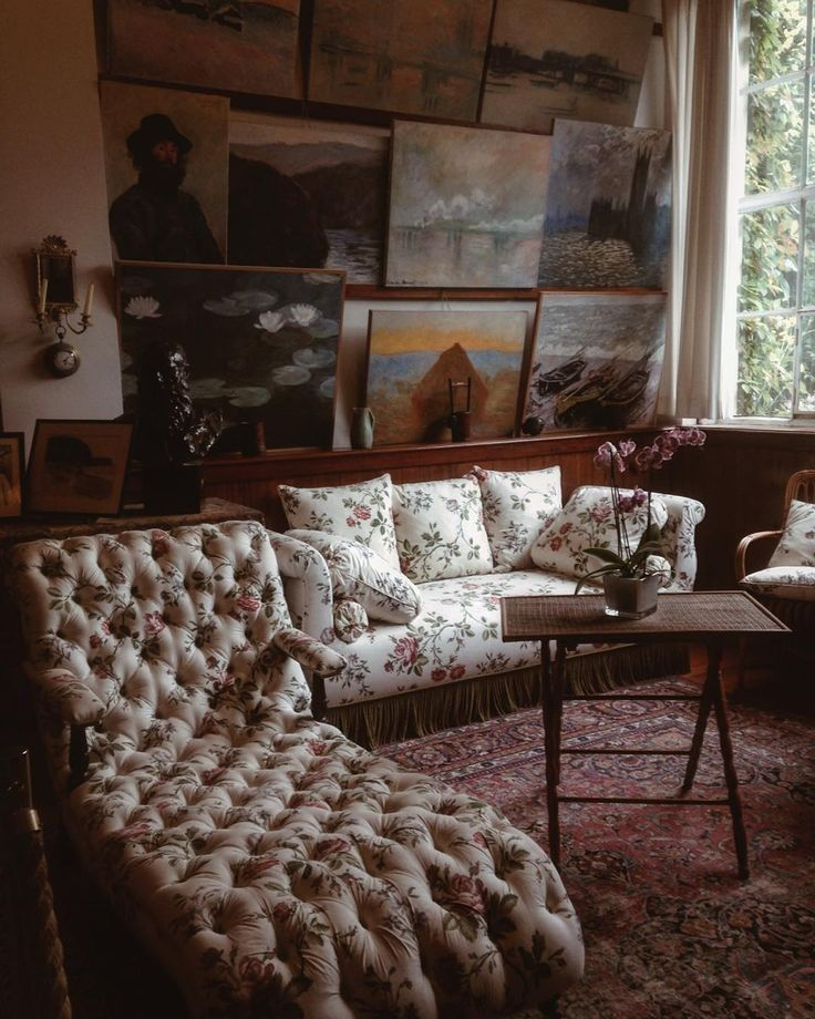 Inside Monet's home | The home of. | Pinterest | Room