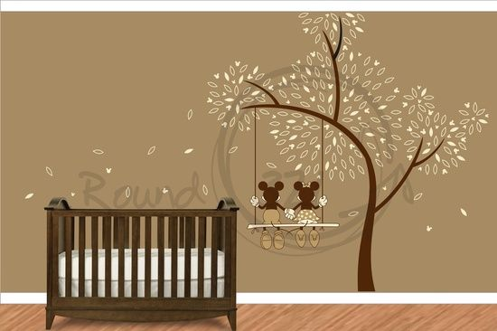 Minnie Mouse Bedroom Decor | Jessica you would love this - Mickey Mouse - Minnie Mouse Wall Decal ...