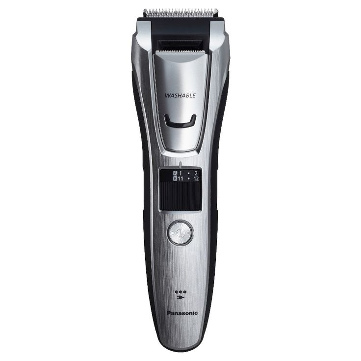 Panasonic Beard and Hair Men's Rechargeable Electric Groomer and Trimmer - ES-GB80-S