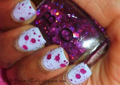 I Seriously Love this!Nails Art, Funky Nails, White Nails, Nails Polish