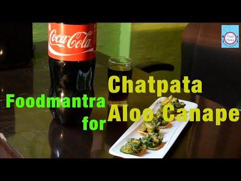 Chatpata Aloo Chaat Canape By Kriti Saxena