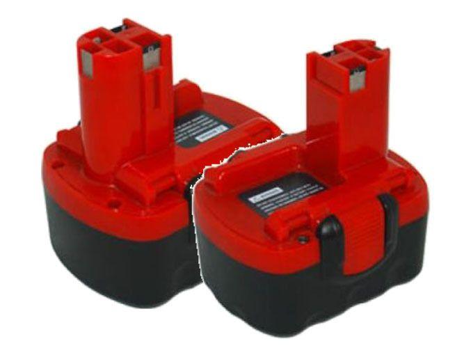 2 NiCd 14.4V 1.5Ah Power Tools Batteries for Bosch 2607335711 2607335276 BAT038 #PowerSmart