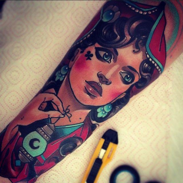 Tattoo by Vitaly Morozov