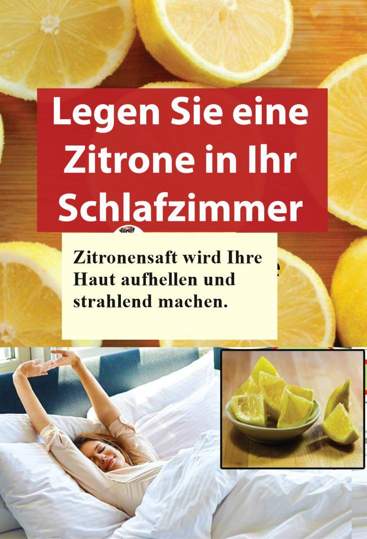 Legen Sie eine Zitrone in Ihr Schlafzimmer. Hier erfahren Sie weshalb!!!   isfur…