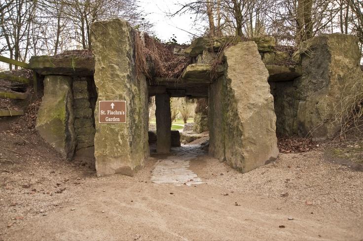 Enter into St. Fiachra's Garden