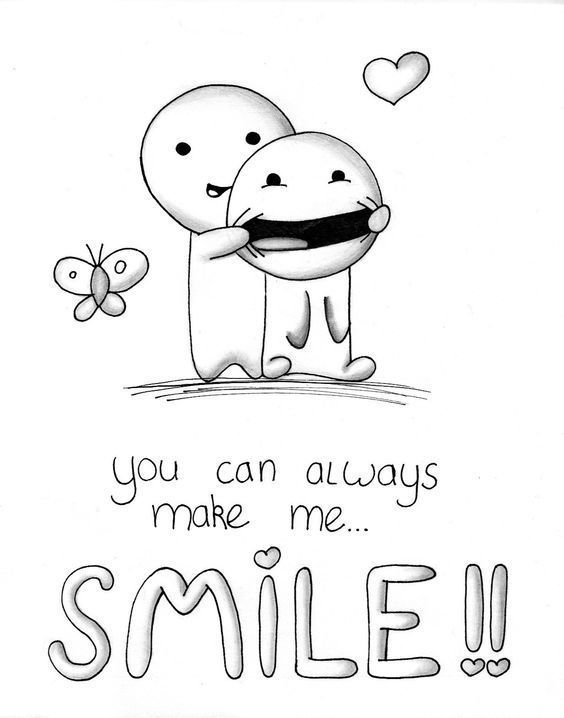Du bringst mich zum Lächeln – #bringst #du #Lächeln #mich #offen #zum