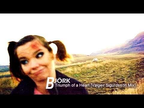 Björk - Triumph of a Heart [Valgeir Sigurdsson Mix] + LINK