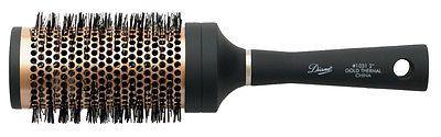 DIANE #1031 GOLD THERMAL CERAMIC 2-1/2'' ROUND HAIR BRUSH