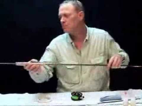 Building your first Fly Rod - Part 4 - Finding the 'Spine'... - YouTube