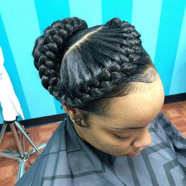 82 Goddess Braids Hairstyles With Pictures Goddess Braids