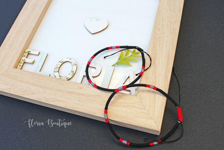 Boho friendship ankle bracelets by FloriaBoutique on Etsy