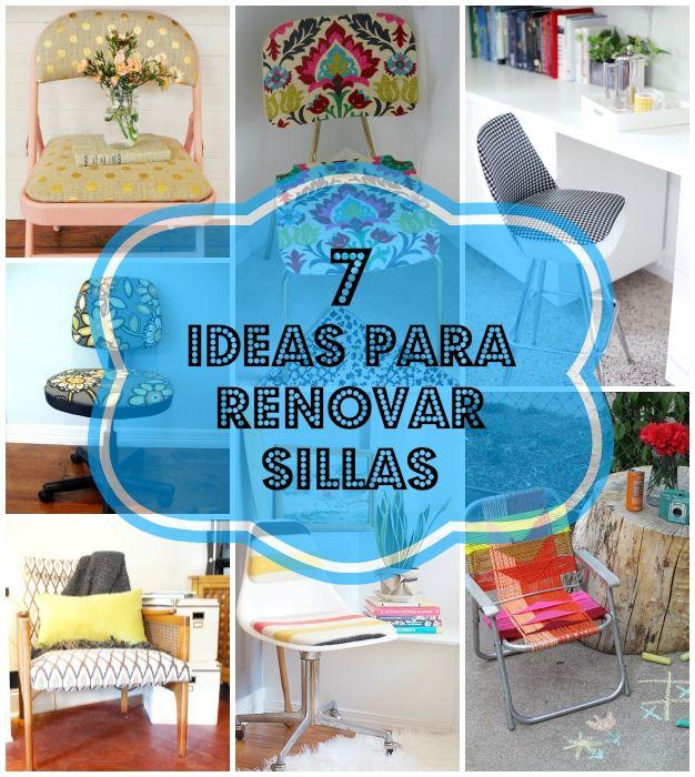 17 mejores ideas sobre viejas sillas de madera en - Sillas para restaurar ...