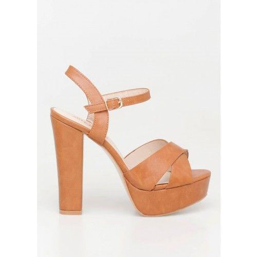 Adalia high heel sandal, ταμπά 44,00 €