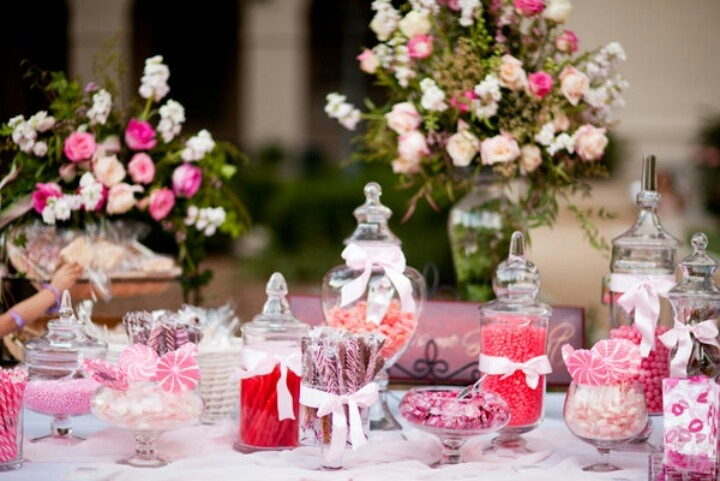 como decorar una mesa de dulces boda pinterest mesas