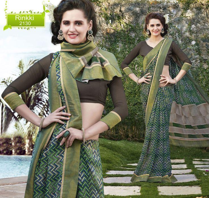 Wedding Dress Indian Designer Saree Pakistani Party Ethnic Bollywood Sari Rinkki #KriyaCreation