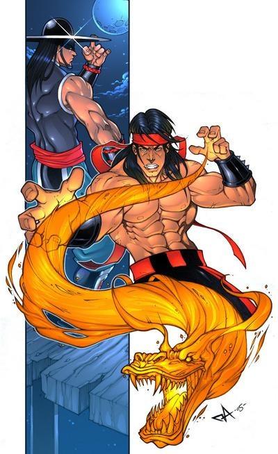 Liu Kang & Kung Lao #MortalKombat