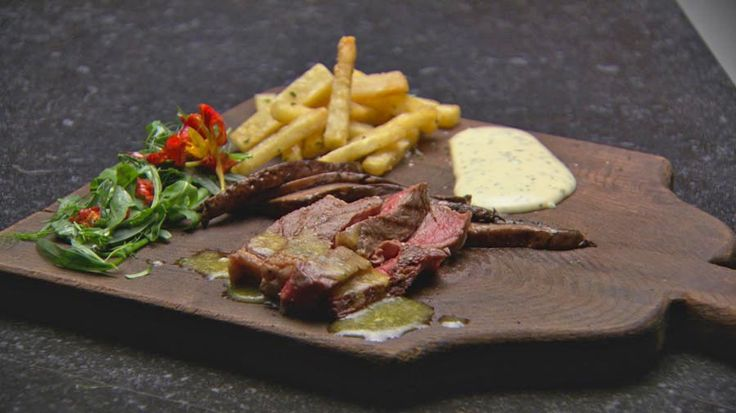 Steak Frites with Maitre d' Butter