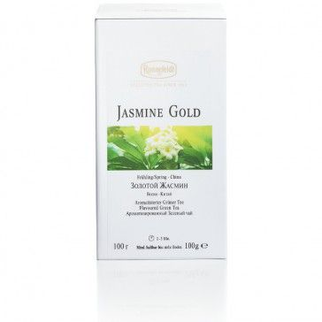 Ronnefeldt Jasmine Gold Tee (100g). (Zum Shop: http://www.hotel4home.com/ronnefeldt-jasmine-gold-100g.html)