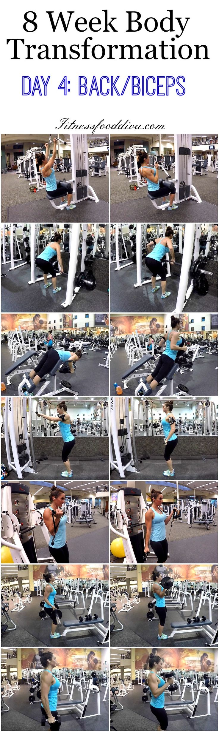Build bigger biceps with this one trick 8 Week Body Transformation: Day 4 Back and Biceps