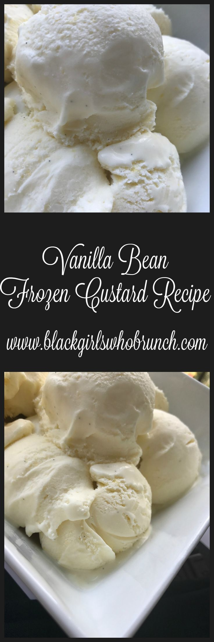 Vanilla Bean Frozen Custard Recipe Black Girls Who Brunch