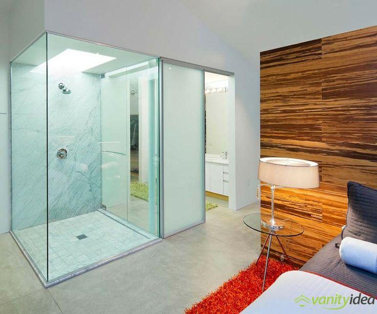 bedroom shower cabine