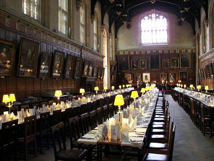 Dining hall, Christ Church - Oxford